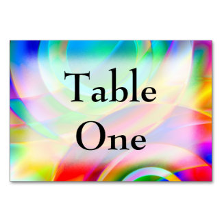 Circle Frenzy Table Card