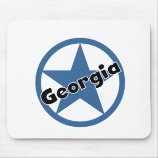 Circle Georgia Mouse Pad