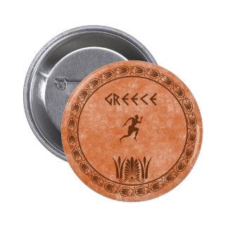 circle Greek design Pin