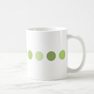 circle-green coffee mug