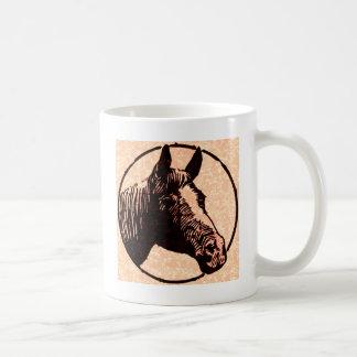 Circle Horse Head Coffee Mug