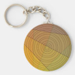 Circle In Triangle Keychains