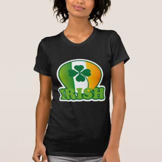 Circle Irish Flag St. Patrick's Design T Shirts