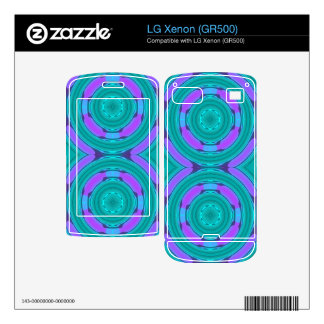 Circle layer pattern skin for the LG xenon