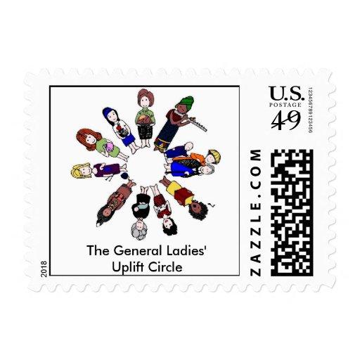 Circle Logo Stamps