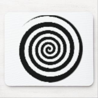 circle maze mouse mats