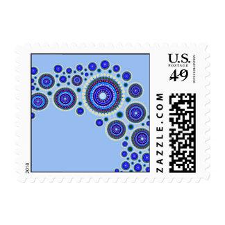 Circle Motif #117 Postage Stamp