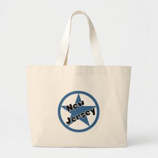Circle New Jersey Tote Bags