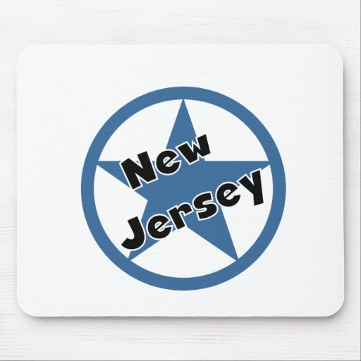 Circle New Jersey Mouse Pad