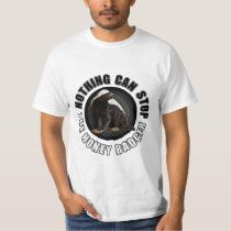 Circle - Nothing Can Stop the Honey Badger T-Shirt