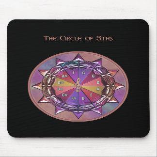 Circle of 5ths Mousepad