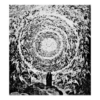 Circle of Angels Dante's Paradise Illustration Posters