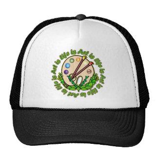 Circle Of Art And Life Hats