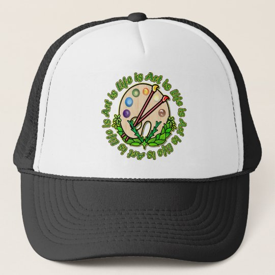 Circle Of Art And Life Trucker Hat