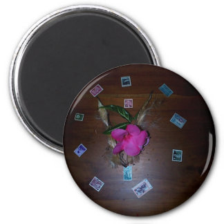 Circle of Beauty 2 Inch Round Magnet