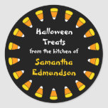 Circle of Candy Corn Kitchen Sticker