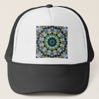 Circle of Colorful Symmetry Trucker Hat