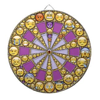 Circle of Emotions Dartboard With Darts