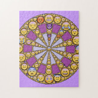 Circle of Emotions Jigsaw Puzzle