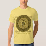 Circle of Fifths Deco Gold Shirt