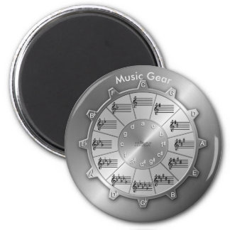 Circle of Fifths Is Essential Music Gear Magnet