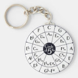 Circle Of Fifths Keychains