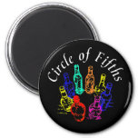 Circle of Fifths Refrigerator Magnet