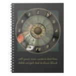 Circle Of Fifths - Vintage Guitar Personalized Journals