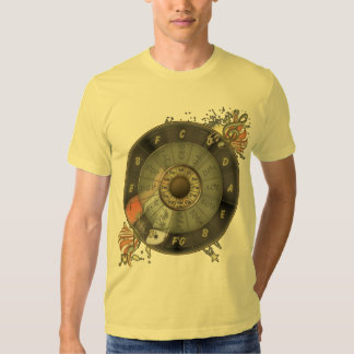 Circle Of Fifths - Vintage Guitar Shirts