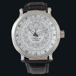 """Circle of Fifths Watch<br><div class=""""desc"""">A novelty watch with the Circle of Fifths on it</div>"""