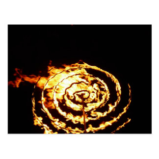 Circle Of Fire Post Card