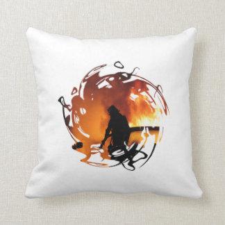 Circle Of Flames Pillows