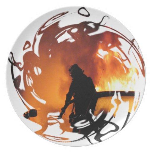Circle Of Flames Plates