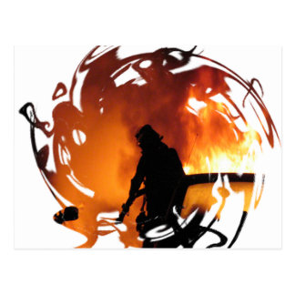 Circle Of Flames Postcard