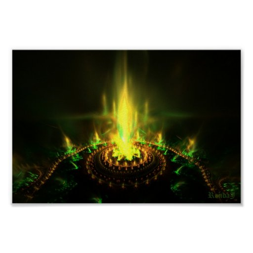 circle of flames poster