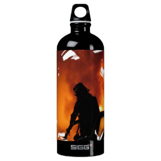 Circle Of Flames Water Bottle