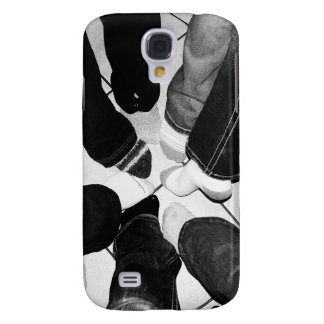 Circle of Friends Feet Galaxy S4 Case