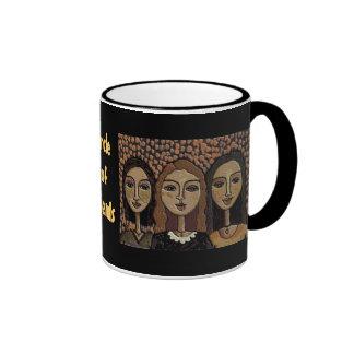 CIRCLE of FRIENDS - sepia version mug