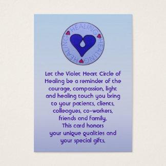 Circle of Healing - Caregiver's Card