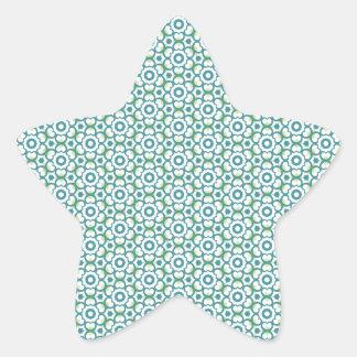 Circle of Hearts Star Sticker