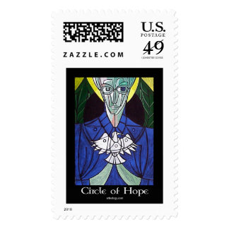 Circle of Hope by Gregory Gallo Stamp