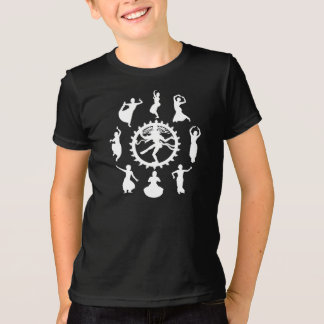 Circle of Indian Dance Kids' Dark T-Shirt