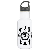 Circle of Indian Dance Stainless Steel Water Bottle