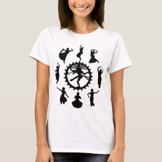 Circle of Indian Dance Women's Light T-Shirt