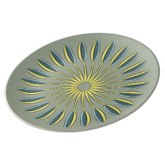 Circle of Kitchen Spoons Dinner Plate