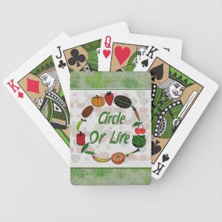 Circle Of Life Bicycle Playing Cards