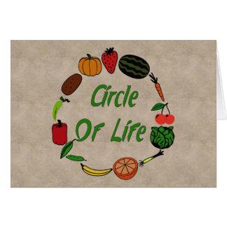 Circle Of Life Card