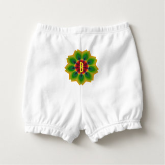 Circle of Life Kaleidoscope Mandala Personalized Diaper Cover