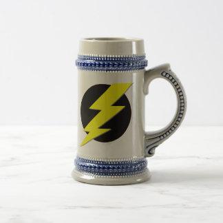 Circle of Lightning Beer Stein