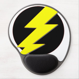 Circle of Lightning Gel Mouse Pad